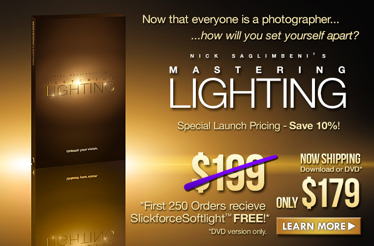 Mastering Lighting Now Available!