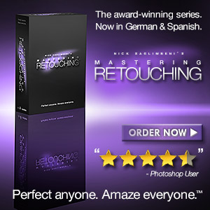 Nick Saglimbeni's Mastering Retouching Series - Order Now!